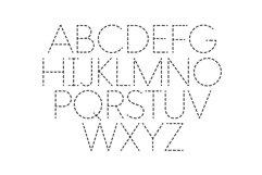 School Days Dash - Handwriting Practice Font Product Image 5