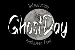 Ghost Day - Halloween Horror Font Product Image 1