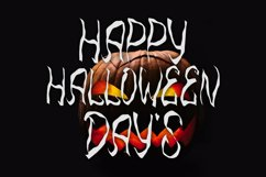 Ghost Day - Halloween Horror Font Product Image 5