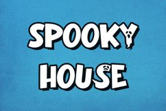Ghost Coming - Halloween Display Font Product Image 3