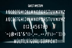 Ghost Mystery - Halloween Scary Font Product Image 3