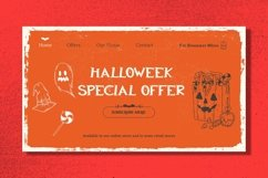 Web Font Ghostly Castle - Halloween Display Font Product Image 3