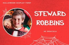 Web Font Ghostly Castle - Halloween Display Font Product Image 5