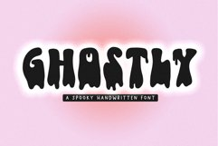 Ghostly - A Dripping Halloween Font Product Image 1