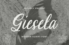 Web Font Giesela Font Product Image 1