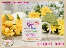 Funny Gigi Svg | Partner In Crime Grandmother Gift Design Product Image 3