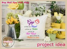 Funny Gigi Svg | Partner In Crime Grandmother Gift Design Product Image 5