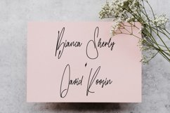 Gilly Fleurs Signature Font Product Image 5
