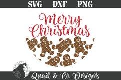 Christmas Sign SVG Bundle, Round Christmas Sign Bundle Product Image 3