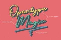 Geofanny | Monoline Layered Script Font Product Image 2