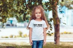 Not Rude Just Nonverbal Autism SVG for T-Shirt or Tote Bag Product Image 3