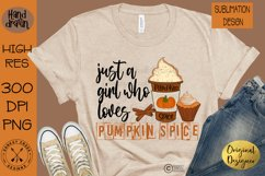 Pumpkin Spice Sublimation Bundle 12 Hand Drawn PNG Designs Product Image 3