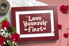 Web Font Giyoline - Valentines Font Product Image 5