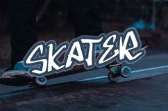GLOWST Graffiti Font Product Image 3