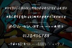 GLOWST Graffiti Font Product Image 2