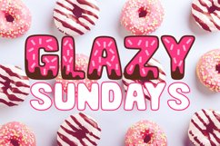 Donut Duo - A delightful doughy font duo! Product Image 2