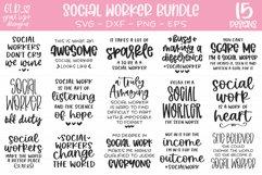 Social Worker Bundle - 15 Social Work SVGs Product Image 1