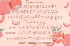 Web Font Glitter - Cute Monoline Script Font Product Image 6