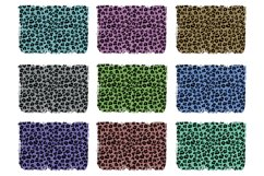 Glitter Leopard Print Backgrounds for Sublimation Product Image 2