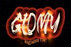 GLOMY - Halloween Horror Font Product Image 1