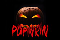 GLOMY - Halloween Horror Font Product Image 2
