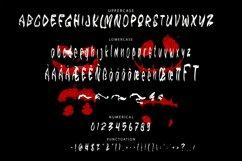 GLOMY - Halloween Horror Font Product Image 5