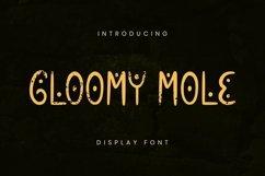 Web Font Gloomy Mole Font Product Image 1