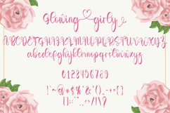 Glowing Girly - A Love Script Font Product Image 4