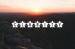 Glowstar - a decorative craft font Product Image 4