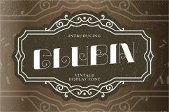 Web Font Glubin Product Image 1