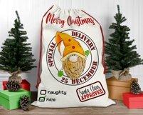 Santa Sack Bundle of 12 Designs | Christmas Gift Bag Print Product Image 4