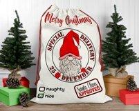 Santa Sack Bundle of 12 Designs | Christmas Gift Bag Print Product Image 3