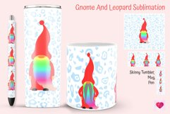 gnome and  leopard for tumblers and mug. Skinny tumbler sublimation.  Epoxy pen ideas. Mug sublimation ideas