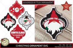 Christmas gnome svg, I'll be gnome for Christmas design for ornament