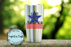 God Bless America Independence Day SVG Product Image 2