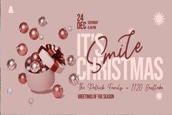 Web Font God Blessing - Christmas Script Font Product Image 2
