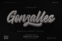 Gonzalles Brush Calligraphy Product Image 1