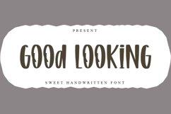 Good Looking - Sweet Handwritten Font Product Image 1