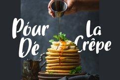 Web Font Gourmette - Handlettering Font Product Image 4