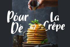 Gourmette - Handlettering Font Product Image 5