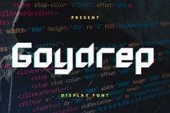 Web Font Goydrep Font Product Image 1