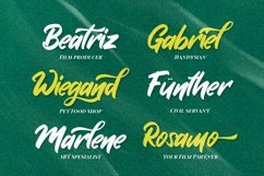 Graby - Bold Script Font Product Image 4