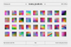 Grainy gradients - backgrounds & abstract shapes collection Product Image 2
