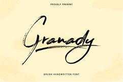 Granady Handwriting Brush Font Product Image 1