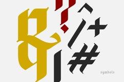 Blackletter Font Product Image 5