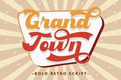 Grandtown - Bold Retro Script Product Image 1