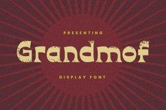 Web Font Grandmof Product Image 1