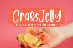 Grassjelly - Lovely Handlettered Font Product Image 1