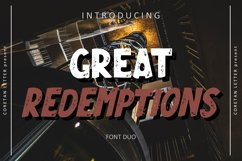GREAT REDEMPTIONS Product Image 1