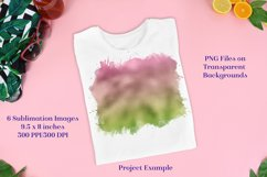 Sublimation PNG Designs - Ombre Green & Pink Product Image 2